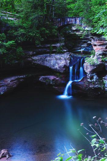 Upper falls beauty Waterfall Nature Water Asseeninohio
