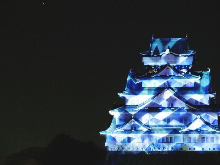 大阪城 大阪城3Dマッピングスーパーイルミネーション Castle Park