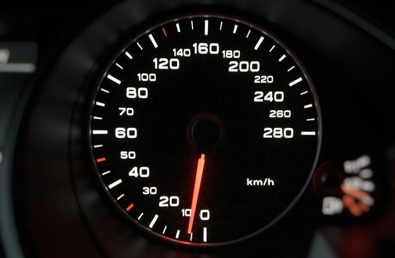 Current speed! ;-) Stau  Traffic Jam