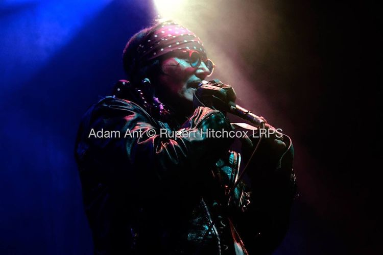 Adam ant, taken a couple of years ago at the forum. Adam Ant Live Music Canonphotography Vivid Colours  Portrait Colour From The Pit Ant Music Ant Music 80's Icon