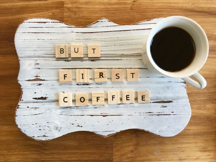 BUT FIRST COFFE