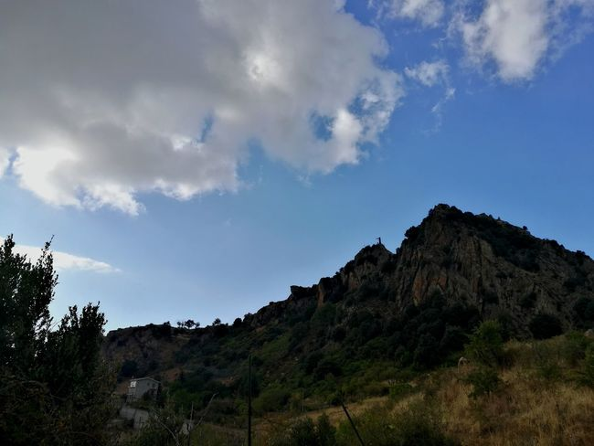 Cesarò-nebrodi Nebrodi Cloud - Sky Sky Landscape Outdoor Pursuit Rock - Object No People Low Angle View Mountain Pinaceae Tree Travel Destinations Outdoors Tranquility Mountain Peak Nature Day Vacations Tree Area Beauty In Nature Scenics
