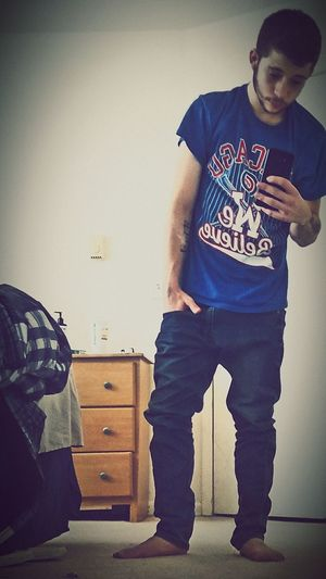 Standing Men Casual Clothing