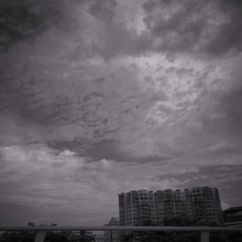 Look Up And Thrive Clouds And Sky Streetphoto_bw Monochrome
