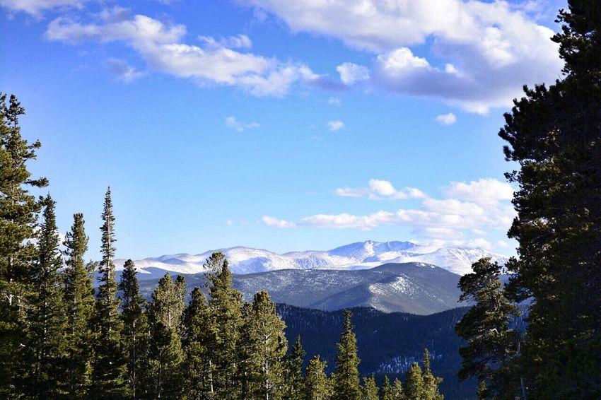 Colorado Mountains Outdoors Freshair Snowcaps Spring