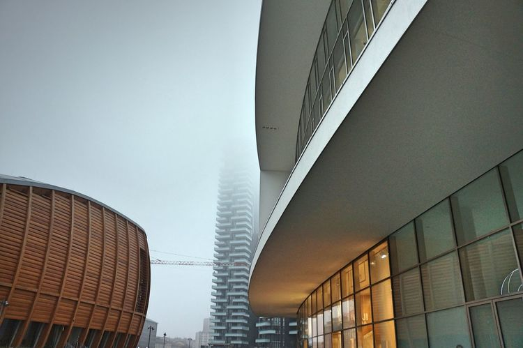 Architectural Feature Architecture Architecture Blue Building Building Exterior Built Structure Ceiling Clean Contemporary Curves Design Development Engineering Exterior Glass - Material Grey Here Belongs To Me Low Angle View Milan Modern Learn & Shoot: Balancing Elements Staircase Window How Do We Build The World?