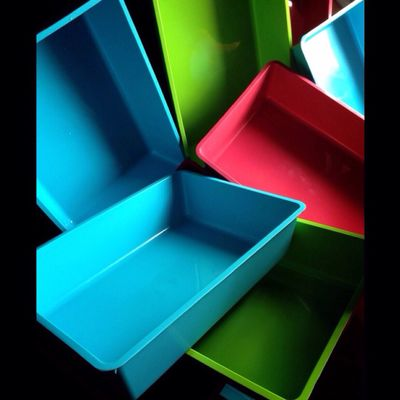 Empty Colours Colourful Art Boxes Silent Multifunction