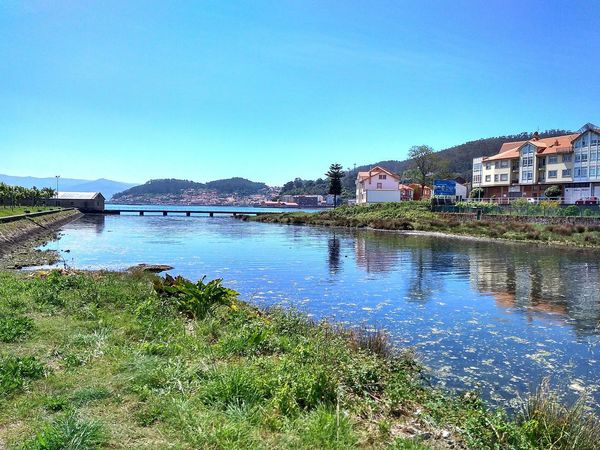 Rias Baixas Galicia, Spain Water Outdoors Clear Sky Reflection Building Exterior Sky Architecture No People Day Nature City