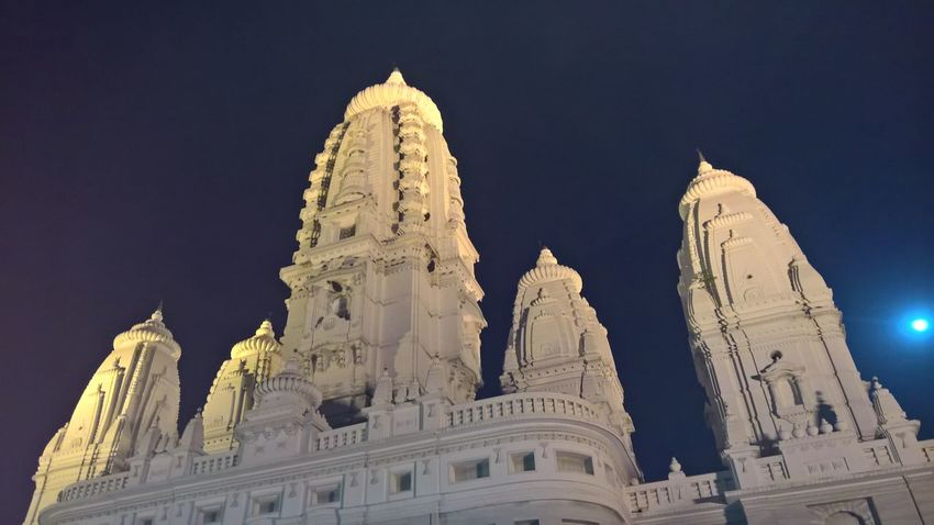 J K Temple Kanpur Dazzle Family Family Time Family❤ J K Temple Lights Moon Night Open Space People Protrait Reflection Staircase Stairs Temple Temple - Building Temple Architecture Water
