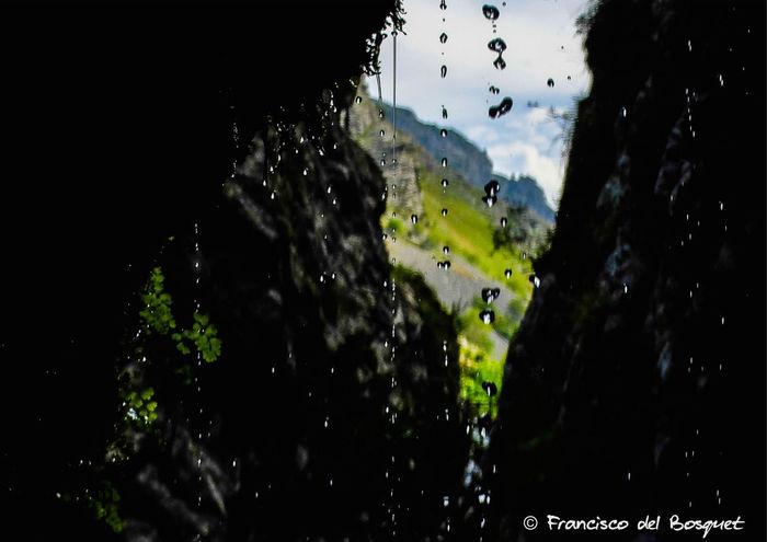 Drop Landscape Picos De Europa Road Rock Rock Formation Rutadelcares Water Waterfall Wet
