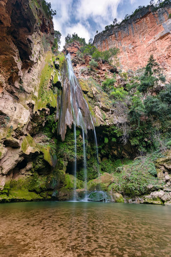 The Cascades d'Akchour in Morocco near Chefchaouen. The Cascades d'Akchour are a 45minute drive from Chefchaouen and they are in the Talassemtane National Park in Morocco. Africa Akchour Cascade Cascades Cascades D'akchour Chefchaouen D'akchour Dakchour Forest Landmark Morocco National National Park Nature River Stream Talassemtane Water Waterfall Wilderness