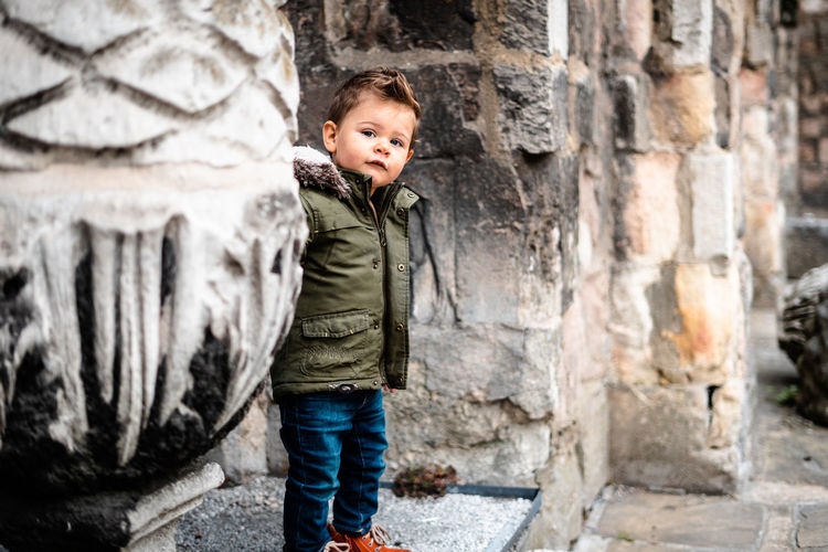 Baby day out Childhood Child Casual Clothing Males  Boys Men Innocence Outdoors One Person Kids Model Kids Toddler  Toddlerlife Two Years Old Baby Day Out Clothing Baby Clothing Toddler Model Standing Full Length Portrait
