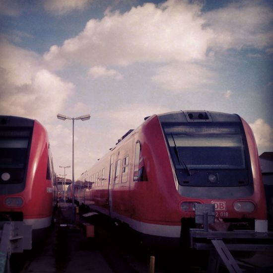 Trainyard Trainspotting Public Transportation Deutsche Bahn Train Yard Trains The Human Condition