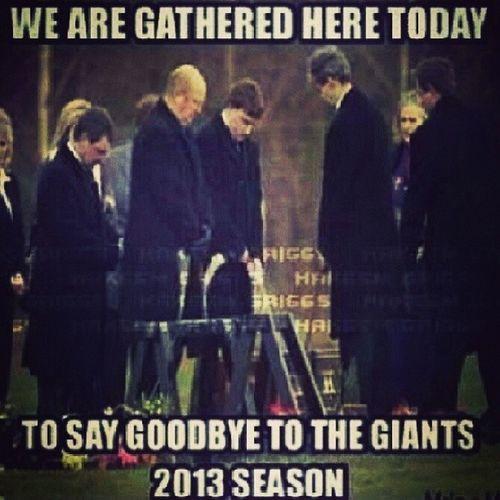 Dang... Giants GiantsFans GiantsFansBeLike PoorGiants NYgiants 0and6 ThatsSad