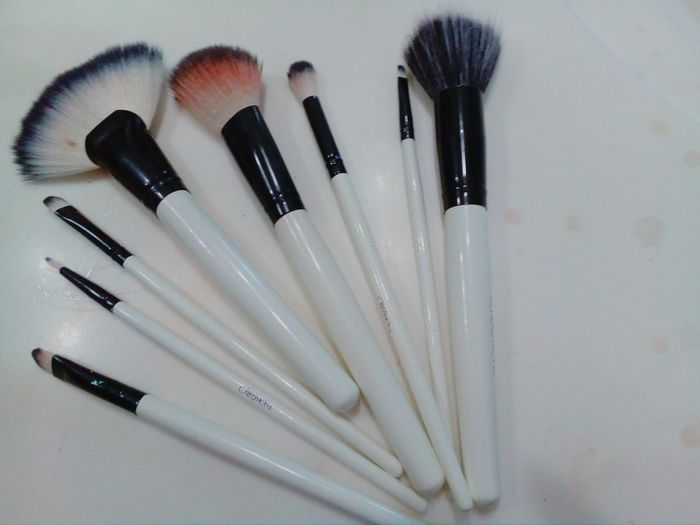 Make-up Beauty Product Beauty Maquillaje Makeup Lifestyles Make-up Brush White Brochasdemaquillaje Blanco