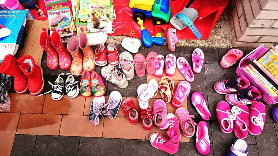 Fleamarket Pink How Many Shoes Does A Girl Need?