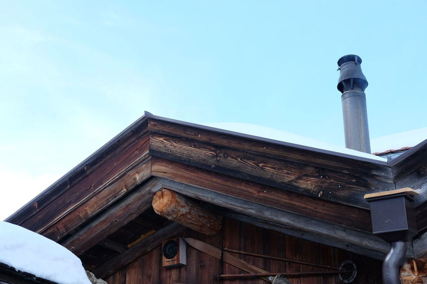 Alm Architecture Built Structure Hut Low Angle View Ski Skihut Skiing Skiing ❄ Wooden Hut