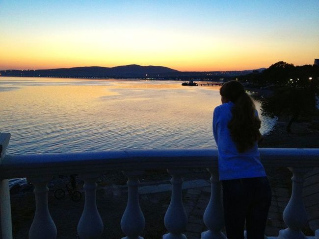 Sea Sunset Good Times Girlfriend