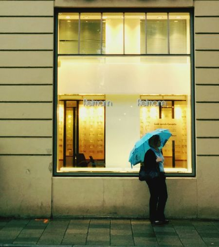 a Gloomy Rainy Day in Munich. The Street Photographer - 2014 EyeEm Awards