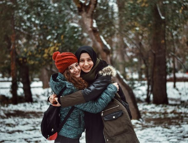 Best Frends Sweet Happiness Two People Friendship Nikond5300photography Photography