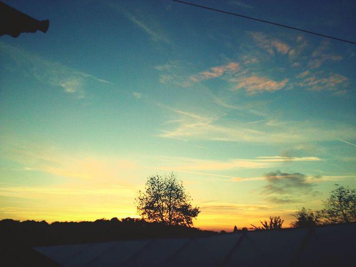 Sunset Sunset Silhouettes Sun First Eyeem Photo