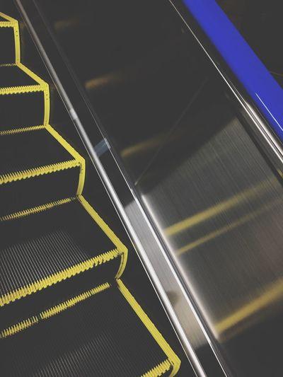 Shibuya Tokyo Escalator Night