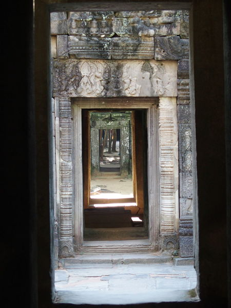 Angkkor, Cambodia Angkor Architecture Built Structure Cambidia Day Door Indoors  Old Open Sunlight Window