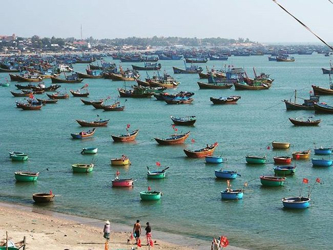 Fishermanvillage Muine Vietnam