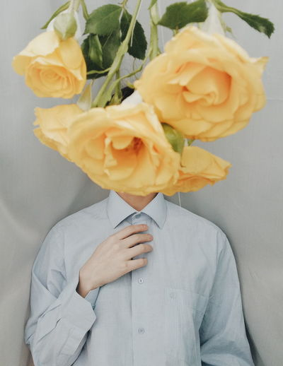 """AUTOPORTRAIT"" Fashion Art Photography Portrait Fineart Conceptual Photography  Human Hand Flower Flower Head Close-up Single Rose Rose - Flower Coral Colored Crumpled Paper Bouquet Crumpled Blooming Single Flower First Eyeem Photo My Best Photo Springtime Decadence Stay Out"