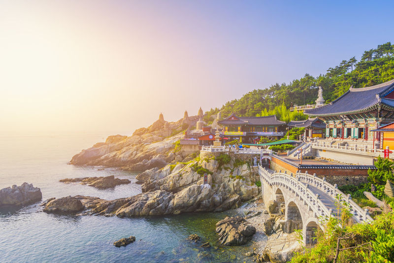 Korea Travel Yonggungsa Busan Yonggungtemple