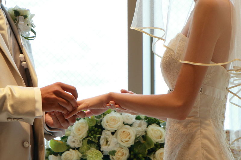 The wedding ceremony of the niece😆 Wedding Wedding Photography Wedding Ring Hands Flowers EyeEm Best Shots From My Point Of View