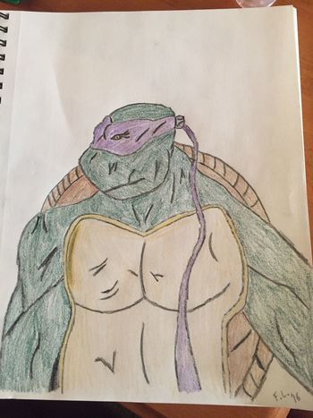Ninja Turtles Sketch Drawing Art, Drawing, Creativity