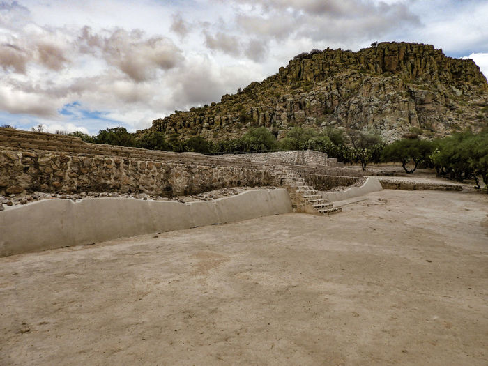 Cloud - Sky Sky History Sand Landscape Rock - Object Travel Destinations Ancient Raining Day Guanajuato, México El Coporo beauty in nature Architecture Sand Dune Ancient Civilization