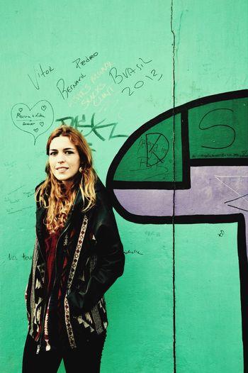 Berlin Streetphotography Autoportrait Colors Color Portrait City