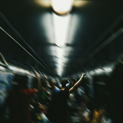 Blurred Motion City Life Enjoyment Illuminated Journey Leisure Activity Lifestyles Lighting Equipment Men Metro Motion Music On The Move Person Rush Hour Travel EyeEm Best Shots EyeEm EyeEm Gallery