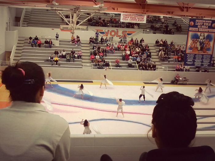Winter Guard Competition