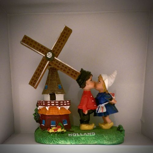 This is what people think when they think of Holland. Holland Windmill Woodenshoes Farmers