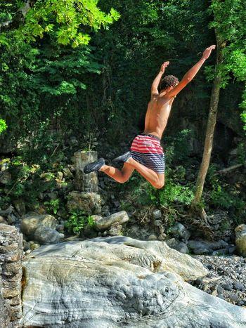 Best jump! France Ardeche Jumpshots Jump Naturelovers