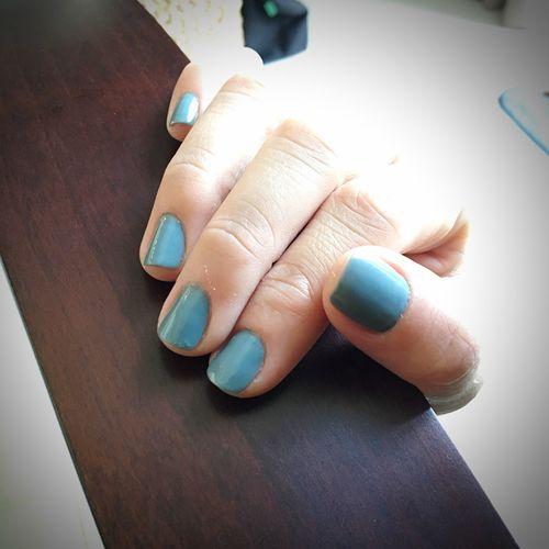 Nails Pastel Colors Handgrip
