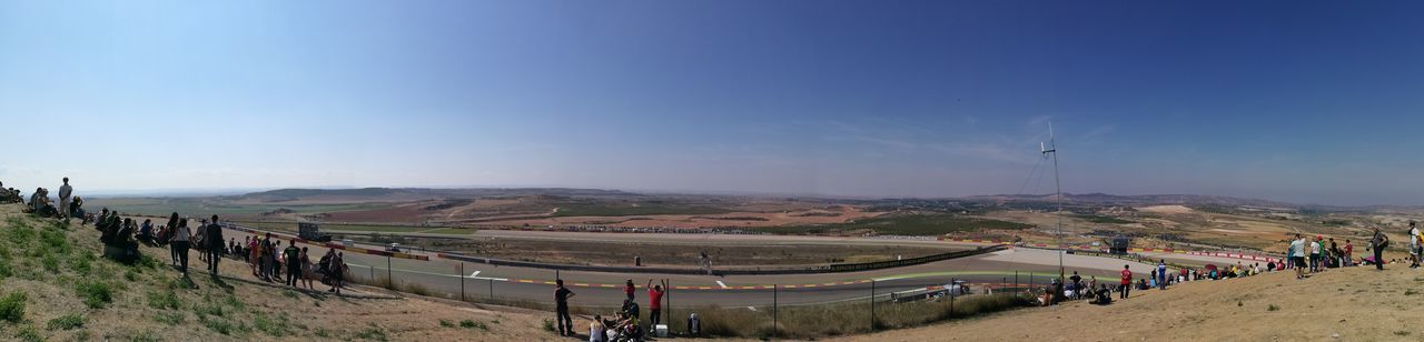 Motorland Motogp Gp Aragon Gas Velocidad Motorcycle Motorsport Sky People Outdoors Landscape