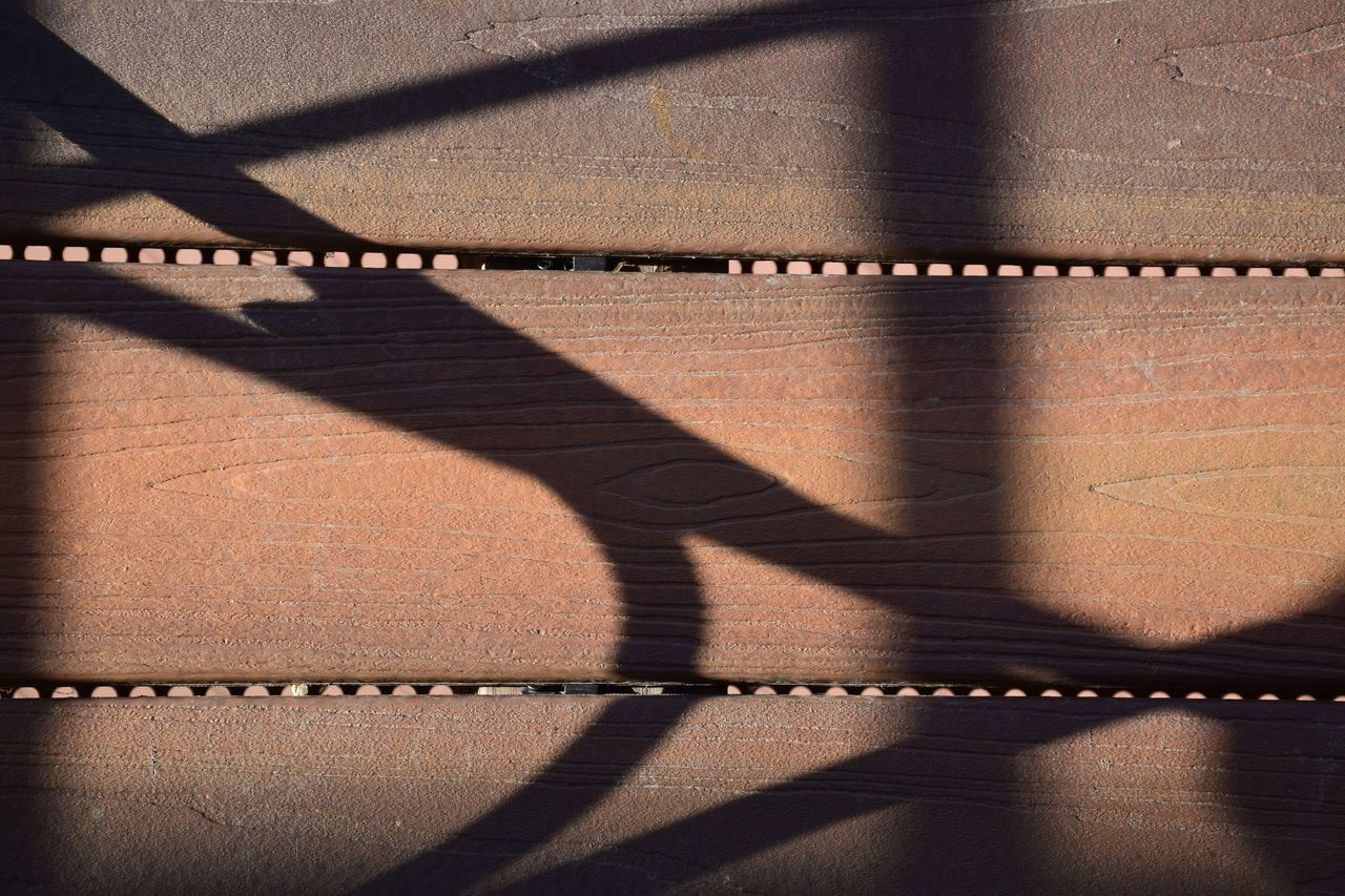 Close-Up Of Shadows On Wall
