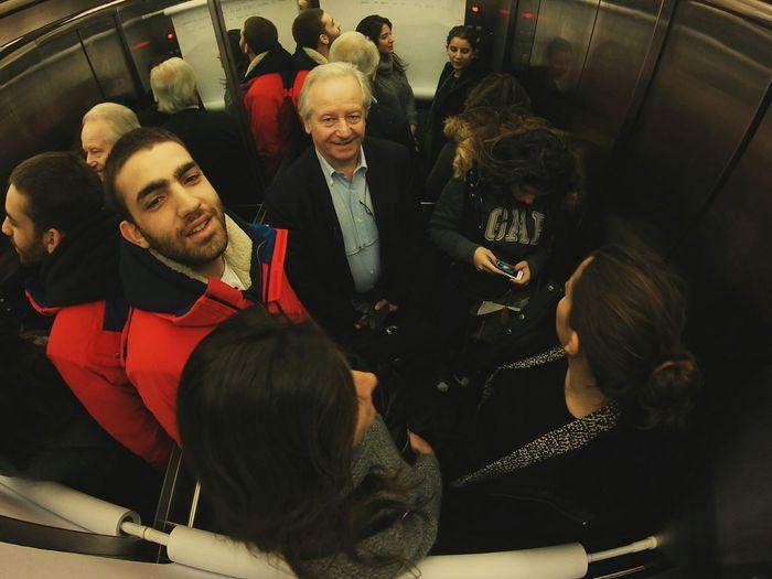 Under Pressure Elevator People