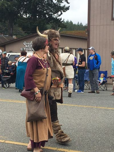 Vikings  Parade Real People Street City Group Of People Architecture Built Structure Lifestyles