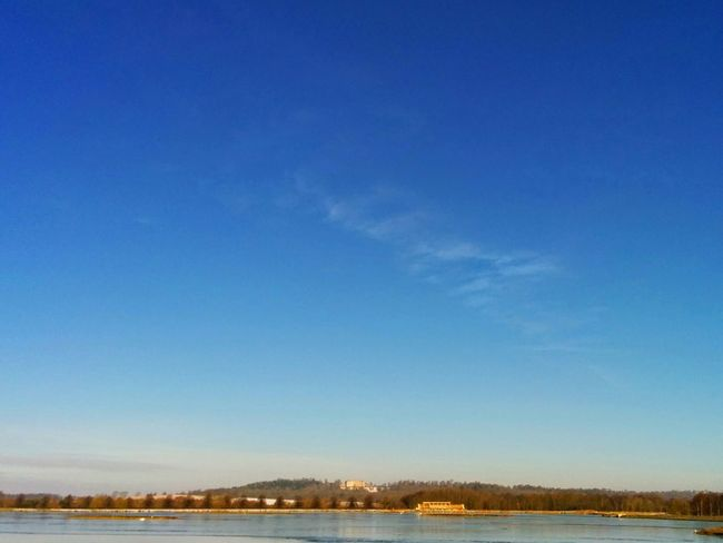 Blue Sky Winter Horizons Countryside Landscape_photography Bird Watching