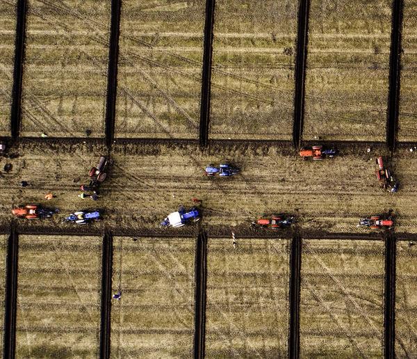 Plough Match Farm Life Farmer Farmland Lines Ploughing Crops Farming Tractors