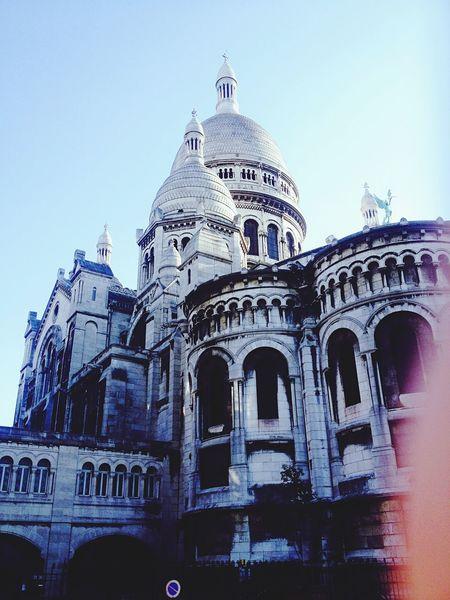 Sacre Coeur Paris Architecture Montmartre