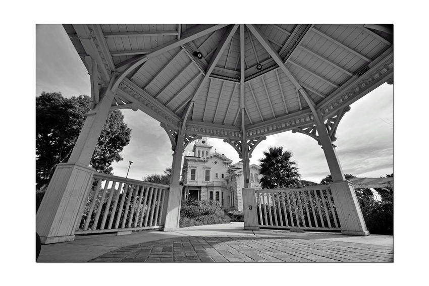 Meeks Mansion @ Cherryland 8 Historic Landmark 10 Acres Built 1869 Owner William Meek Gazebo View 27 Rooms, 3 Floors With A Cupola Grounds Include Carriage House & Gazebo Orchards : Cherry, Apricots, Plums & Almonds Bnw_friday_eyeemchallenge Landscape Architecture Architecture Details Architecture_collection Architecture Photography Monochrome Black & White Black And White Black And White Collection  Arches Black And White Photography Landscape_lovers Landscape_Collection Landscape_photography