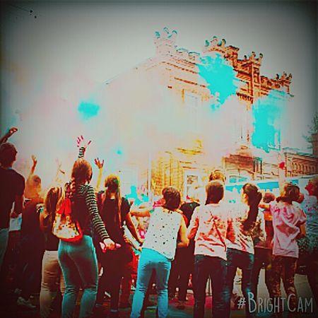 Fun People фестиваль красок First Eyeem Photo