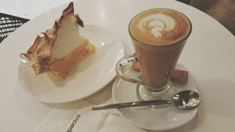 May your love be as sweet as my Meringue....so good...i'm dying. So Yummy Afternoon Coffee Chilling On My Own  Missing Him Yummy