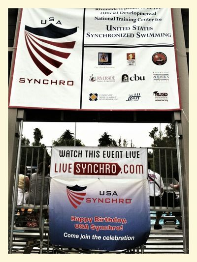 Usa Synchro National Competition Synchronized Swimming